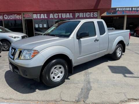 2017 Nissan Frontier for sale at Sanmiguel Motors in South Gate CA