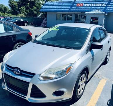 2012 Ford Focus for sale at RD Motors, Inc in Charlotte NC