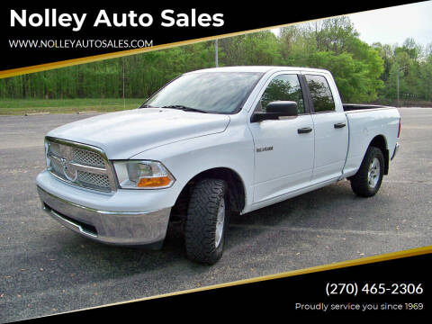2010 Dodge Ram Pickup 1500 for sale at Nolley Auto Sales in Campbellsville KY