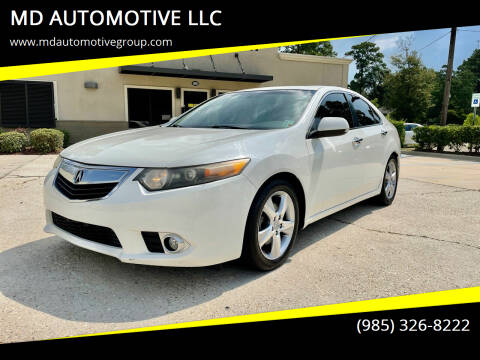 2011 Acura TSX for sale at MD AUTOMOTIVE LLC in Slidell LA