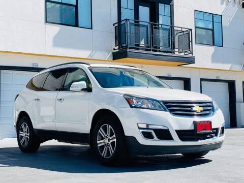 2015 Chevrolet Traverse for sale at Avanesyan Motors in Orem UT