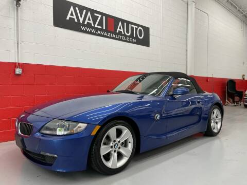 2006 BMW Z4 for sale at AVAZI AUTO GROUP LLC in Gaithersburg MD