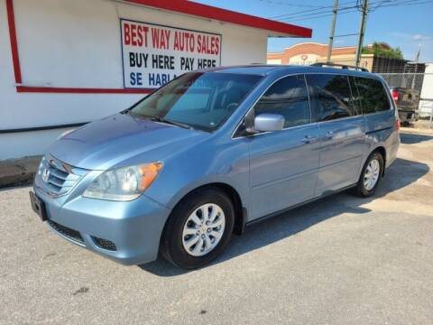 2010 Honda Odyssey for sale at Best Way Auto Sales II in Houston TX