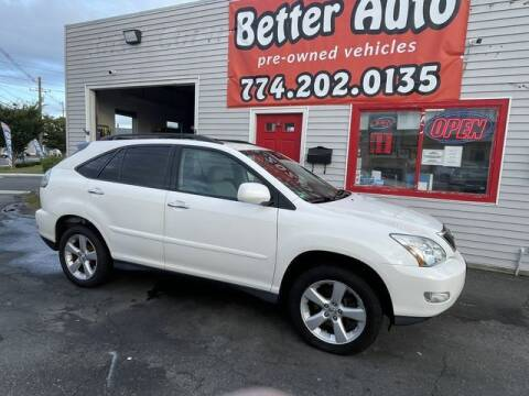 2008 Lexus RX 350 for sale at Better Auto in Dartmouth MA