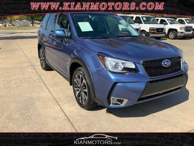 2018 Subaru Forester for sale at KIAN MOTORS INC in Plano TX