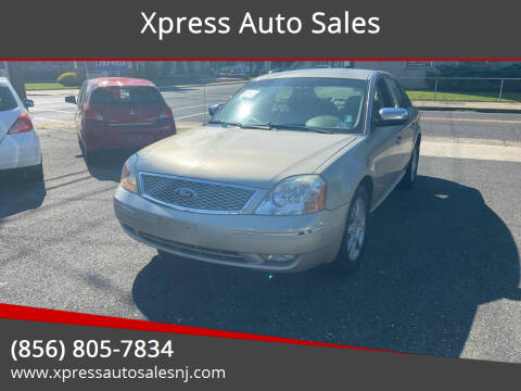 2006 Ford Five Hundred for sale at Xpress Auto Sales in Laurel Springs NJ
