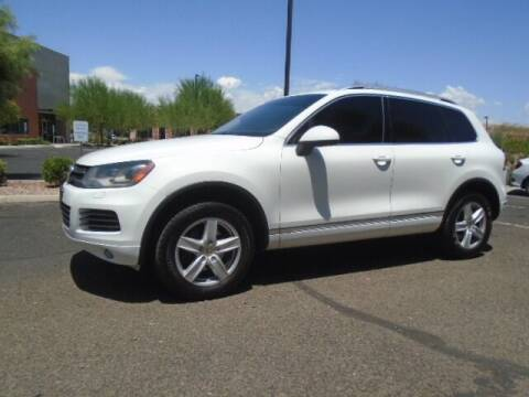 2013 Volkswagen Touareg for sale at COPPER STATE MOTORSPORTS in Phoenix AZ