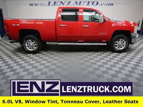 2012 Chevrolet Silverado 2500HD for sale at LENZ TRUCK CENTER in Fond Du Lac WI