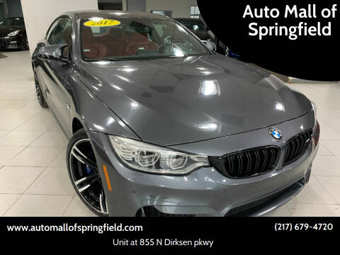2017 BMW M4 for sale at Auto Mall of Springfield north in Springfield IL