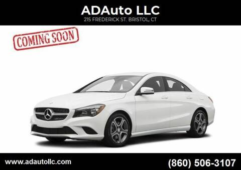 2016 Mercedes-Benz CLA for sale at ADAuto LLC in Bristol CT