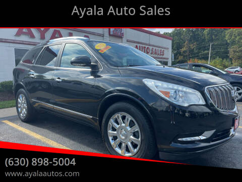 2013 Buick Enclave for sale at Ayala Auto Sales in Aurora IL