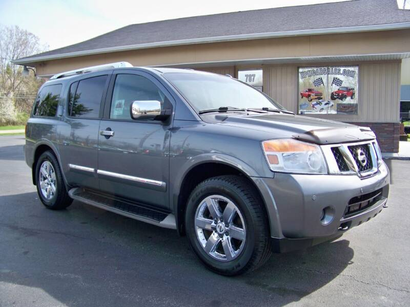 2014 Nissan Armada for sale at RPM Auto Sales in Mogadore OH