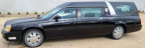 2004 Cadillac Deville Professional for sale at FRANSISCO & MONROE FUNERAL CAR SALES LLC in Tulsa OK
