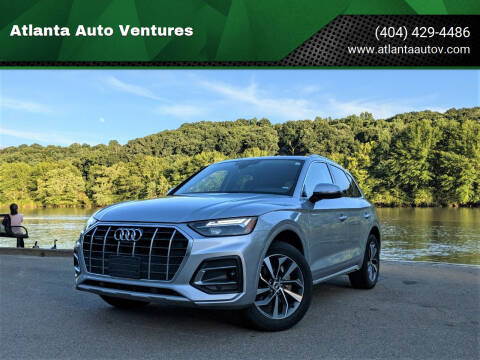 2021 Audi Q5 for sale at Atlanta Auto Ventures in Roswell GA