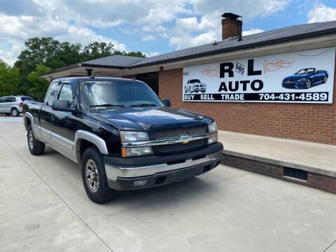 2005 Chevrolet Silverado 1500 for sale at R & L Autos in Salisbury NC
