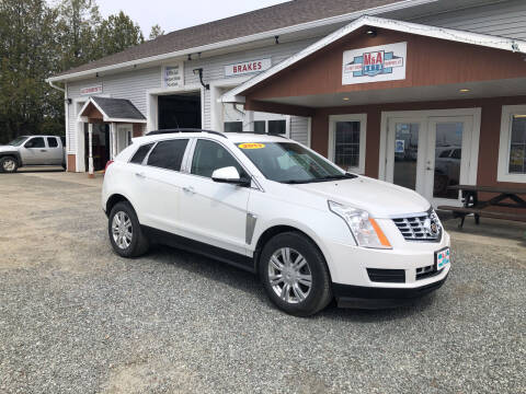 2013 Cadillac SRX for sale at M&A Auto in Newport VT