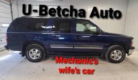 2002 Chevrolet Suburban for sale at Ubetcha Auto in St. Paul NE