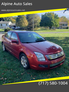 2007 Ford Fusion for sale at Alpine Auto Sales in Carlisle PA
