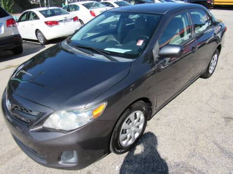 2012 Toyota Corolla for sale at King of Auto in Stone Mountain GA