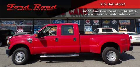 2009 Ford F-350 Super Duty for sale at Ford Road Motor Sales in Dearborn MI