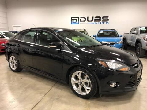 2014 Ford Focus for sale at DUBS AUTO LLC in Clearfield UT