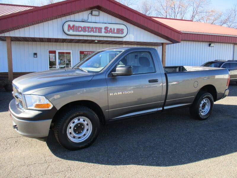 2011 RAM Ram Pickup 1500 for sale at Midstate Sales in Foley MN