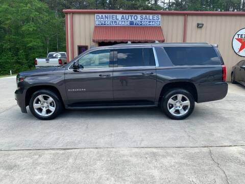2017 Chevrolet Suburban for sale at Daniel Used Auto Sales in Dallas GA