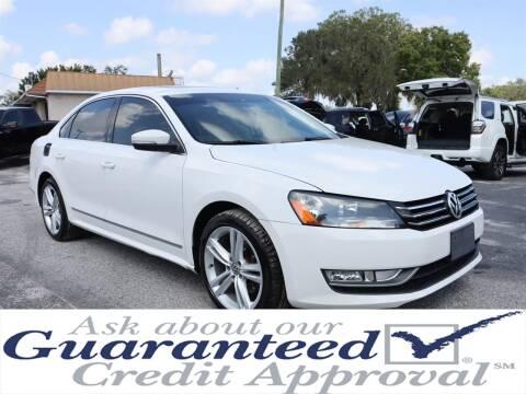 2014 Volkswagen Passat for sale at Universal Auto Sales in Plant City FL