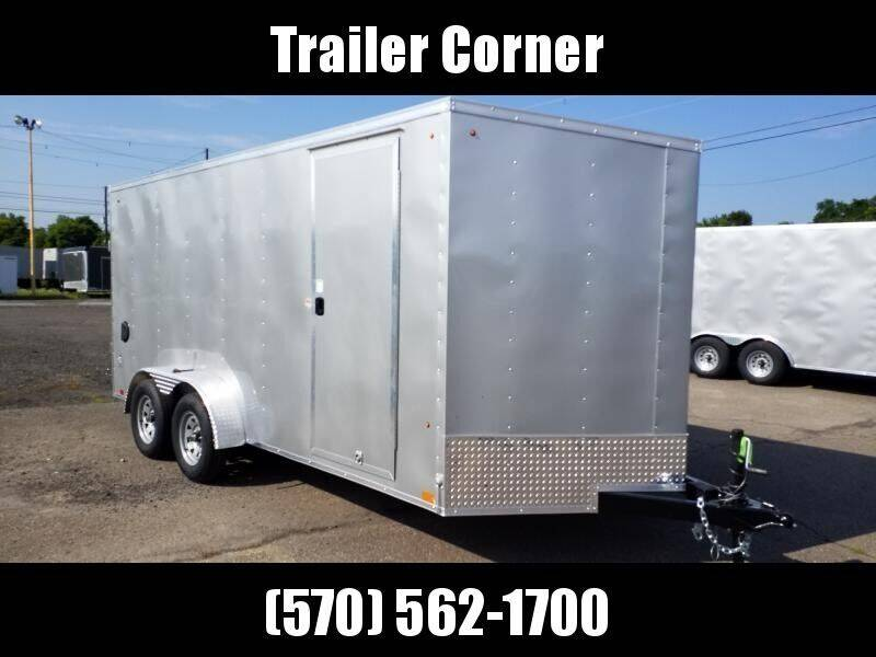 2020 Look Trailers STLC 7X16 EXTRA HEIGHT