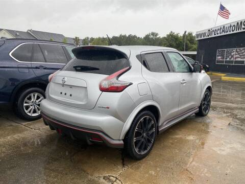 2016 Nissan JUKE for sale at Direct Auto in D'Iberville MS