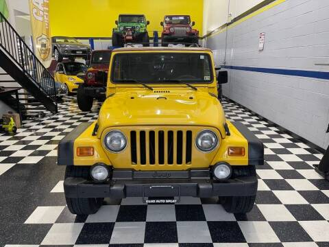 2002 Jeep Wrangler for sale at Euro Auto Sport in Chantilly VA