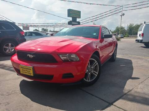 2011 Ford Mustang for sale at Pasadena Auto Planet in Houston TX