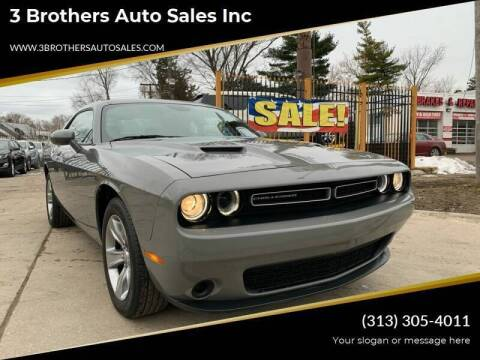 2019 Dodge Challenger for sale at 3 Brothers Auto Sales Inc in Detroit MI