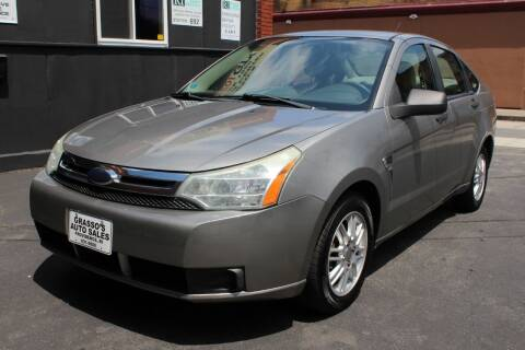 2008 Ford Focus for sale at Grasso's Auto Sales in Providence RI