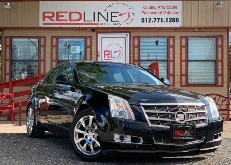 2009 Cadillac CTS for sale at REDLINE AUTO SALES LLC in Cedar Creek TX