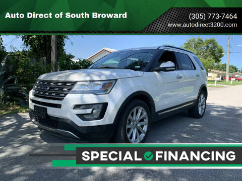 2016 Ford Explorer for sale at Auto Direct of South Broward in Miramar FL