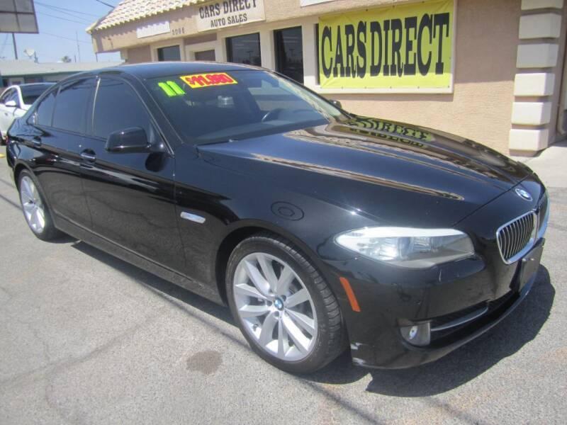 2011 BMW 5 Series for sale in Las Vegas, NV