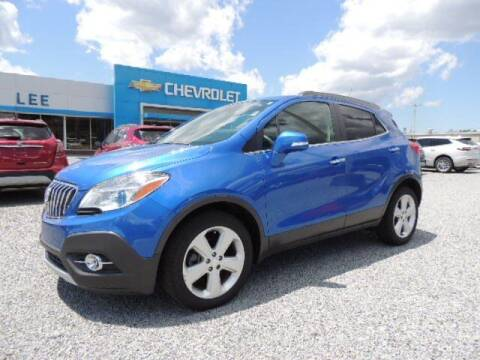 2016 Buick Encore for sale at LEE CHEVROLET PONTIAC BUICK in Washington NC