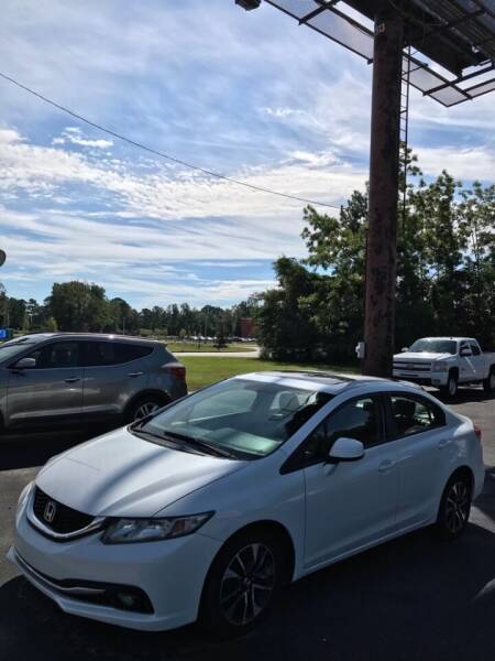 2013 Honda Civic for sale at Northgate Auto Sales in Myrtle Beach SC