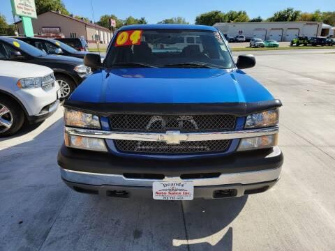 2004 Chevrolet Silverado 1500 for sale at De Anda Auto Sales in Storm Lake IA