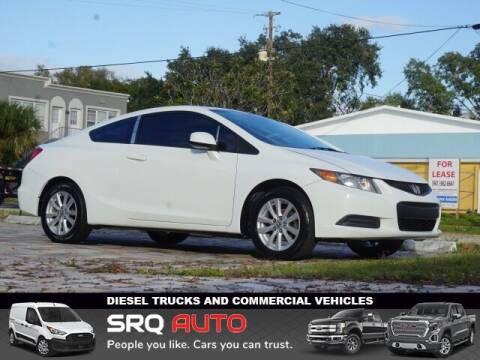 2012 Honda Civic for sale at SRQ Auto LLC in Bradenton FL