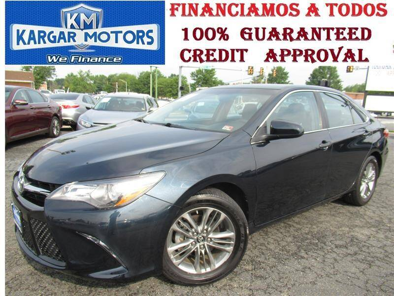 2017 Toyota Camry for sale at Kargar Motors of Manassas in Manassas VA