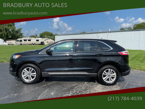 2020 Ford Edge for sale at BRADBURY AUTO SALES in Gibson City IL
