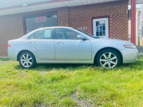 2005 Acura TSX for sale at Mr VA Auto in Chesapeake VA
