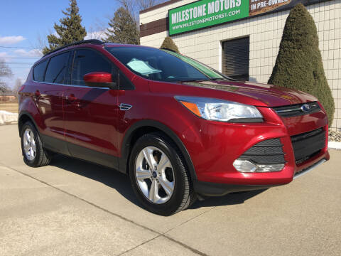 2014 Ford Escape for sale at MILESTONE MOTORS in Chesterfield MI