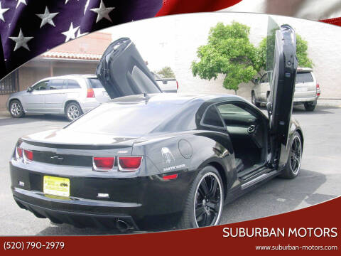 2010 Chevrolet Camaro for sale at Suburban Motors in Tucson AZ