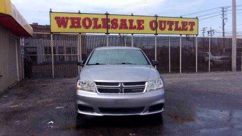 2013 Dodge Avenger for sale at LONG BROTHERS CAR COMPANY in Cleveland OH