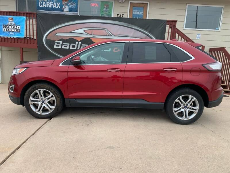 2015 Ford Edge for sale at Badlands Brokers in Rapid City SD