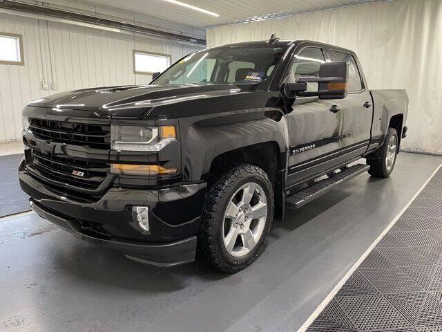 2018 Chevrolet Silverado 1500 for sale at Monster Motors in Michigan Center MI