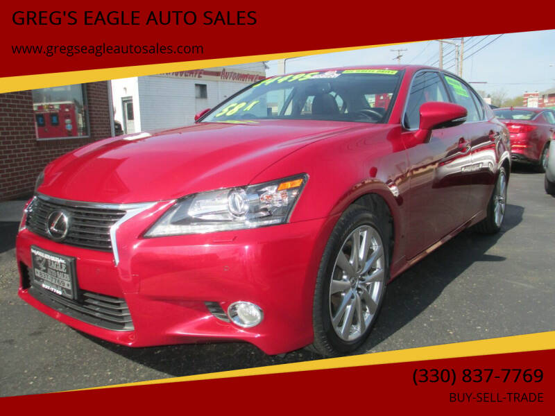 2014 Lexus GS 350 for sale at GREG'S EAGLE AUTO SALES in Massillon OH